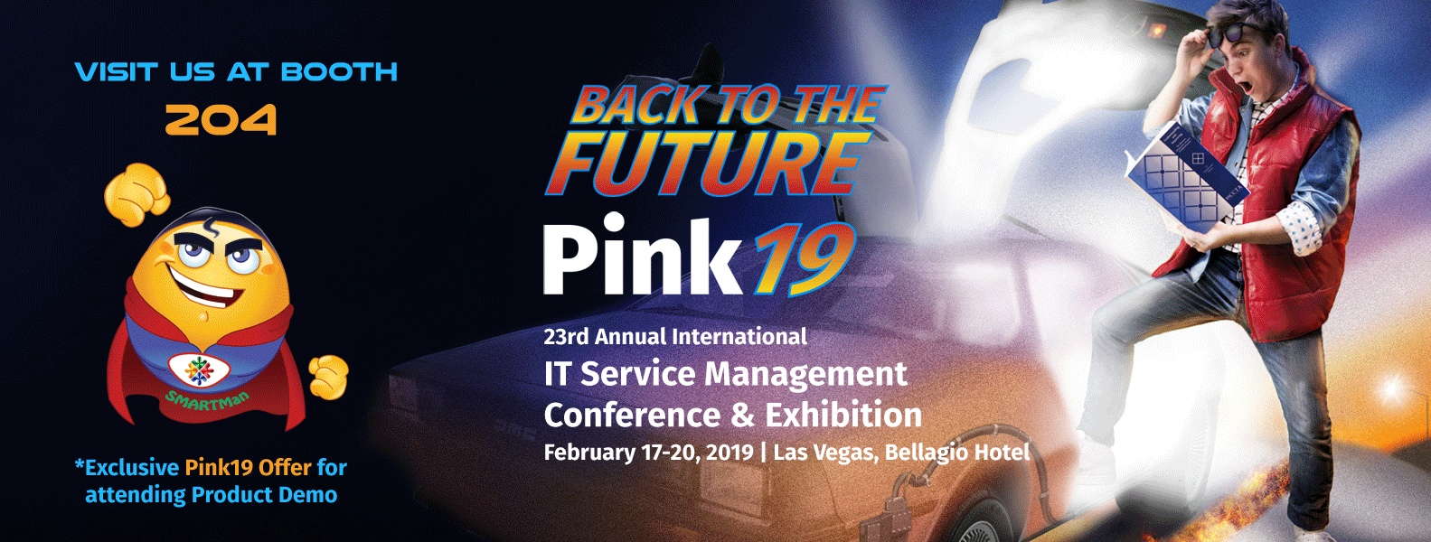 SMART Service Desk is a proud Super Silver Sponsor of Pink 19
